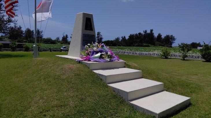 知る人ぞ知る、伊江島の「アーニーパイル記念碑」と慰霊祭の物語