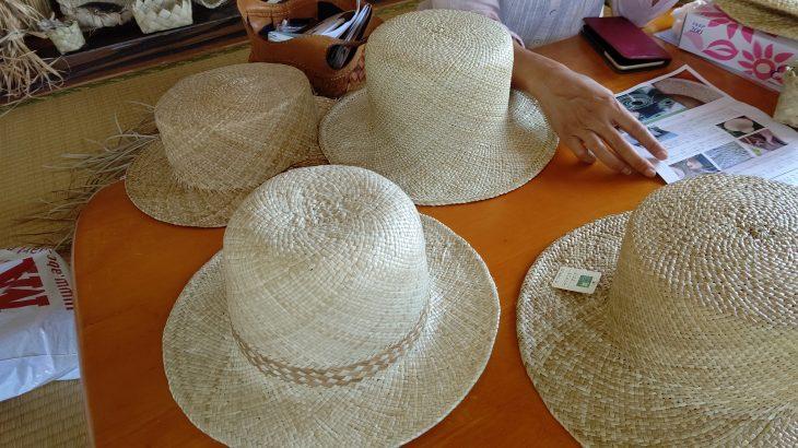 知る人ぞ知る伊江島の「アダン葉帽子」!製造工程と託された想い