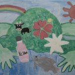 山の日企画『伊江島タッチュー絵画コンテスト』の展示会場を覗いてみよう!